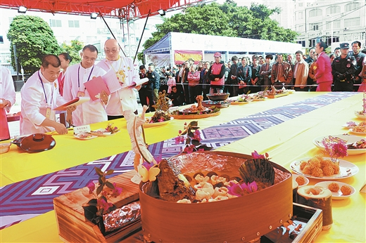 鐘山縣舉辦第二屆特色長壽美食大賽