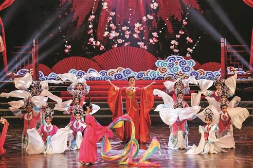 梧州市舉行音舞詩畫原創作品展演晚會
