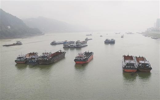 長洲水利樞紐船閘貨物通過量呈現爆發式增長