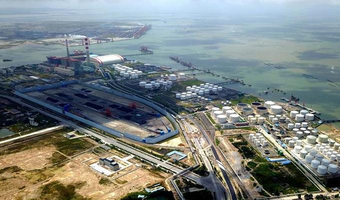 中國西南邊陲崛起億噸大港