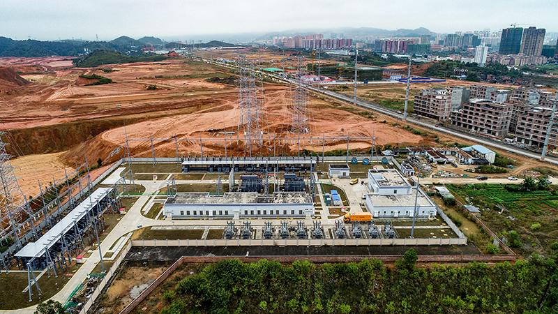 廣西首個220千伏3C綠色智能變電站投運