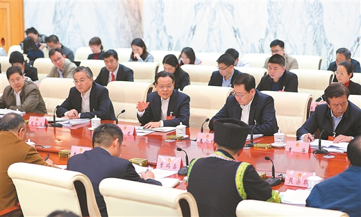 陳武參加南寧市代表團審議