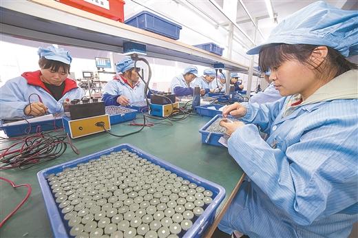 梧州:企業開足馬力趕訂單