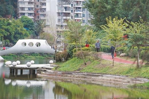 梧州市潘塘公園綠道改造工程(一期)進入收尾階段
