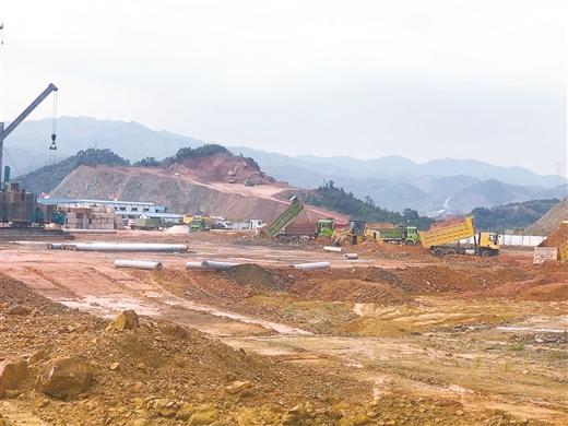 嶺南食品工業小鎮産業園項目加緊建設