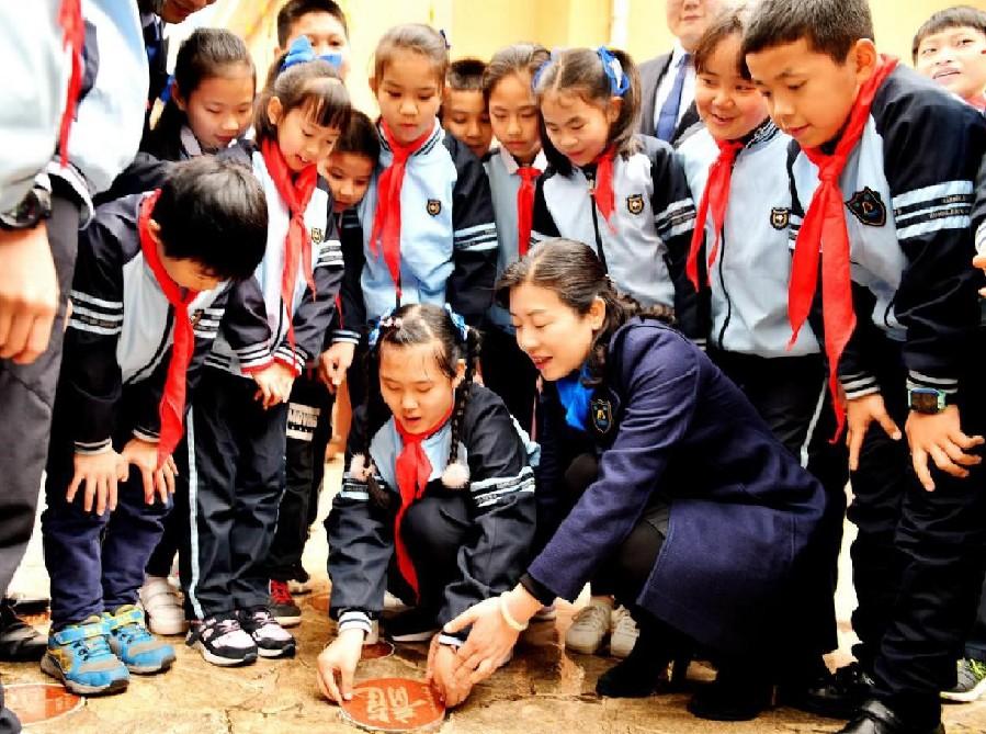 南寧市濱湖路小學舉行書法大賽係列活動