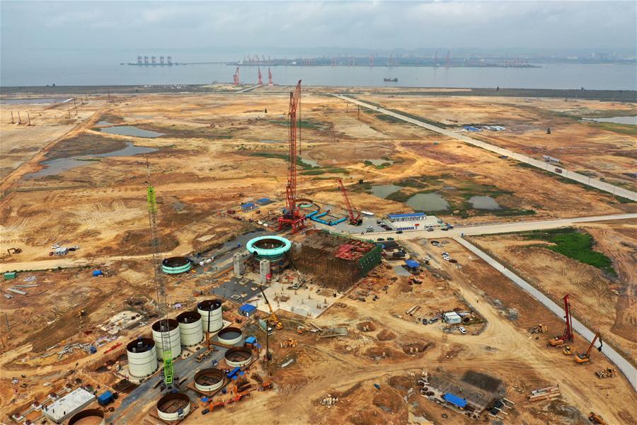 廣西鋼鐵集團防城港鋼鐵基地項目有序推進