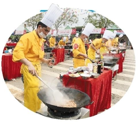 武鳴區檸檬鴨廚藝秀出來