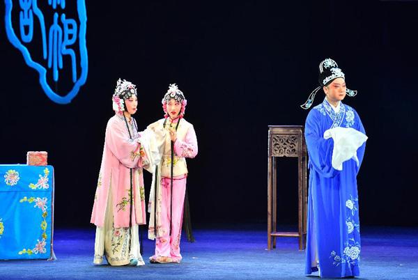 第29屆中國戲劇梅花獎黃梅戲折子戲現場競演在南寧舉行