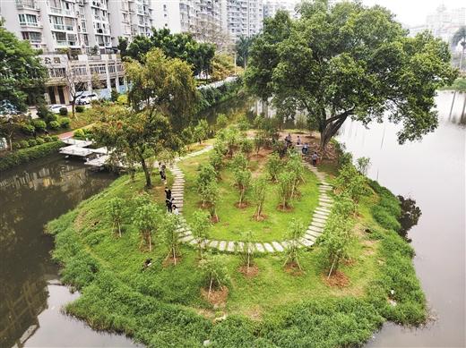 梧州市潘塘公園二期景觀提升工程開工