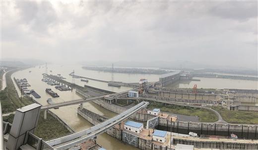 長洲船閘一季度過貨量超3000萬噸