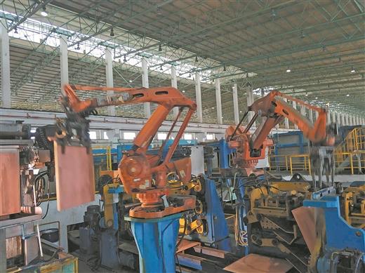 梧州循環經濟産業園區企業開足馬力生産