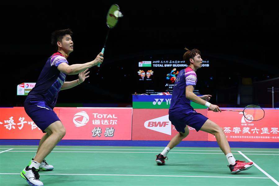 羽毛球——蘇迪曼杯四分之一決賽:中國戰勝丹麥
