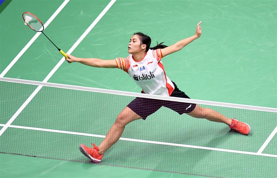 羽毛球——蘇迪曼杯四分之一決賽:中國臺北隊不敵印度尼西亞隊