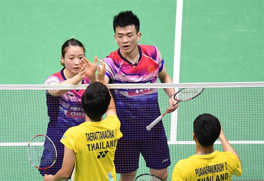 羽毛球——蘇迪曼杯半決賽:中國對陣泰國