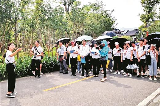 賀州舉辦旅遊景點歷史文化講解大賽