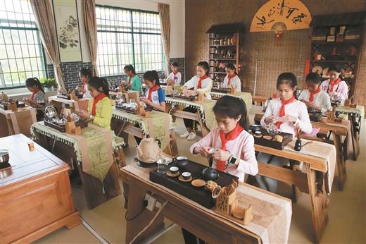 梧州開展六堡茶文化傳承活動
