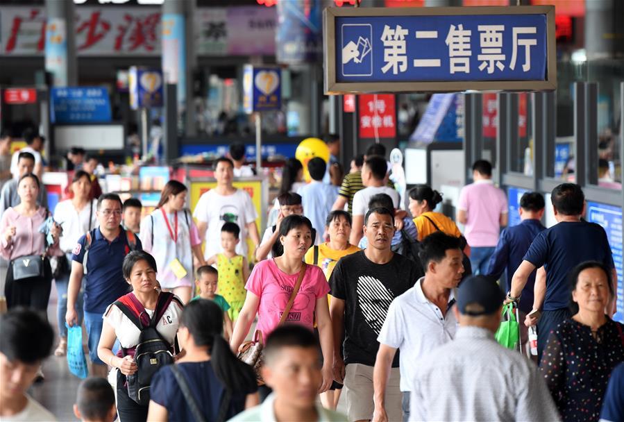 廣西南寧:迎來端午返程客流高峰