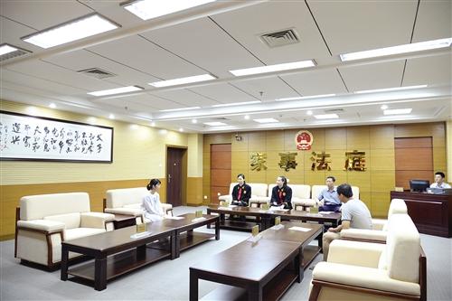 良慶區法院創新機制建設讓家事審判改革更具人文關懷