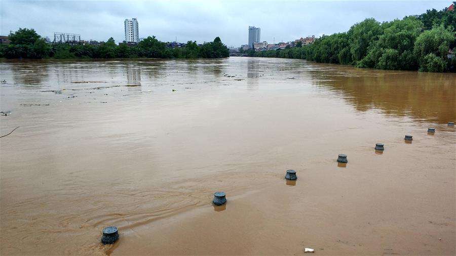 廣西賀州遭遇大暴雨襲擊