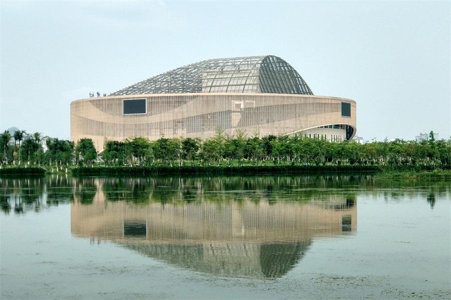 聽,建築在訴説│航拍廣西賀州文化中心