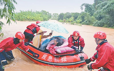 廣西8市40縣(市、區)遭受洪澇災害