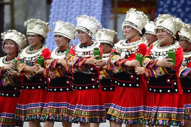 廣西龍勝:苗族風情助推鄉村旅遊