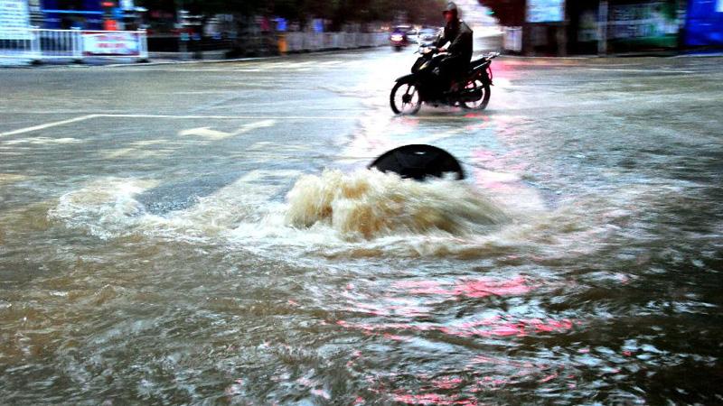 廣西羅城遭暴雨襲擊