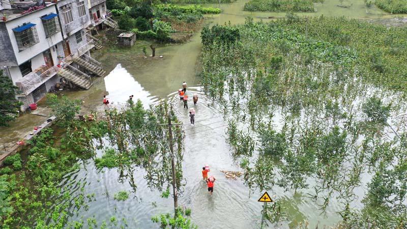強降雨致廣西36萬人受災