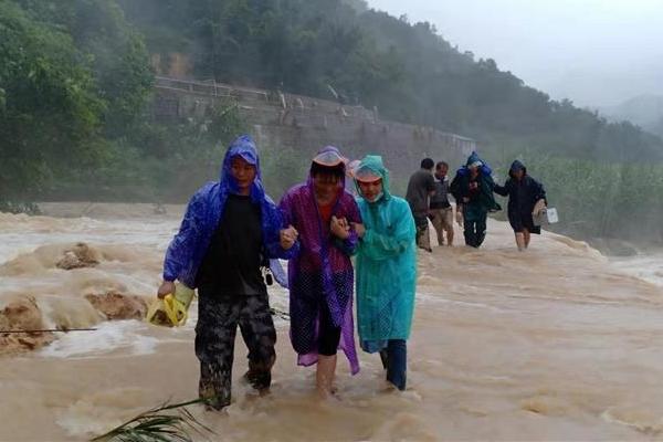 廣西遭遇強降雨 各地幹群積極抗洪救災