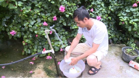 鹿寨實施農村飲水安全工程讓貧困群眾用上放心水