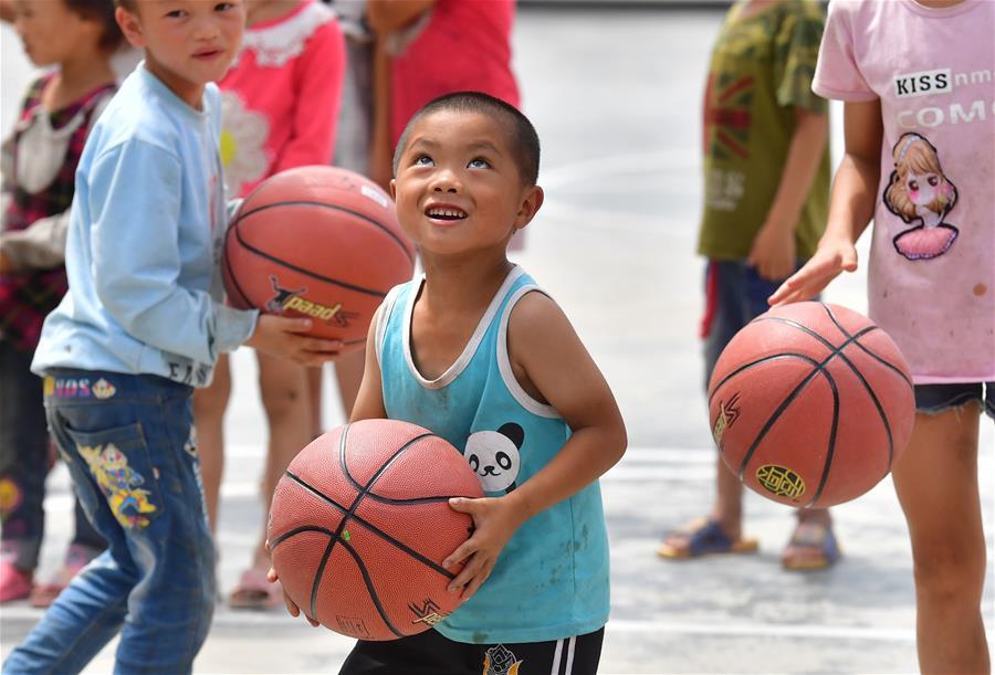山裏娃的新籃球