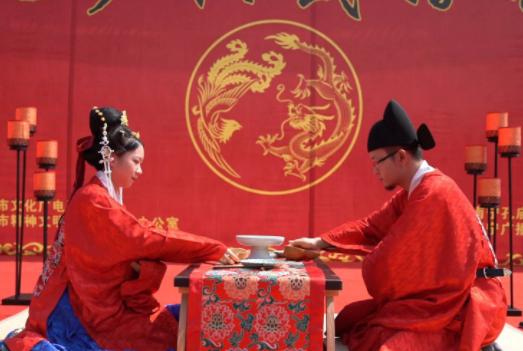 展東方古韻 廣西南寧舉辦漢式婚禮體驗活動