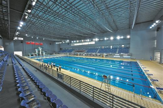 梧州市遊泳跳水館對市民開放比賽池