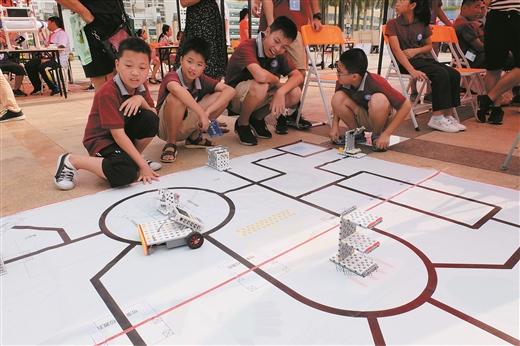 梧州舉行八桂科普大行動暨青少年科學節啟動儀式