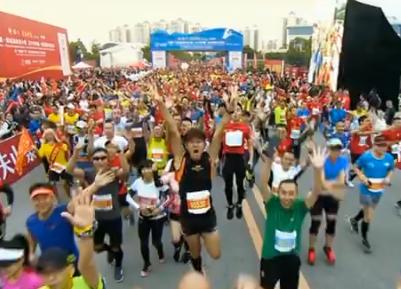 2019中國—東盟國際馬(ma)拉松shan) 1月17日(ri)開跑