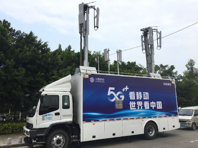 """""""世巡賽·環廣西""""重要賽段起終點均部署移動5G網絡"""