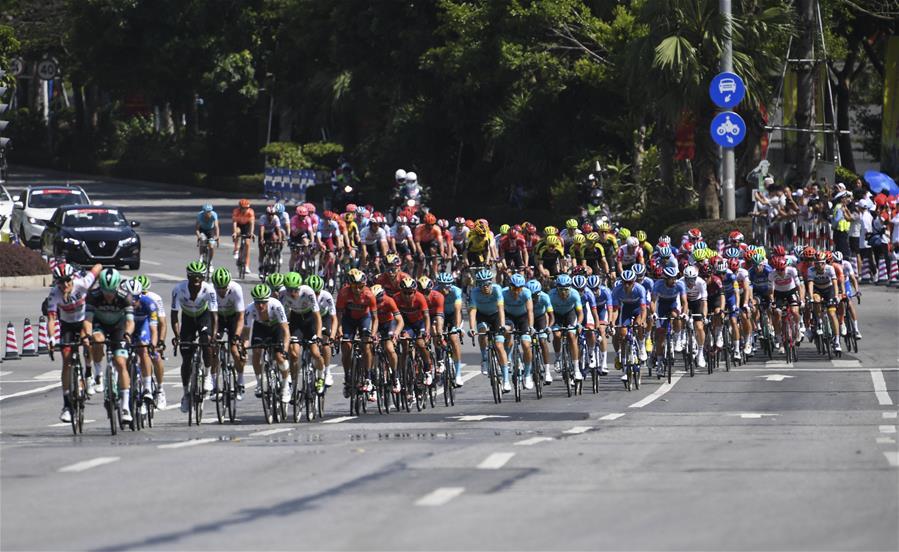 自行車——環廣西公路自行車世界巡回賽第二賽段賽況