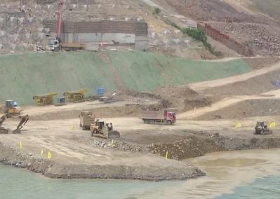 大藤峽水利樞紐工程即將實現(xian)zhi) jiang)截流斷航