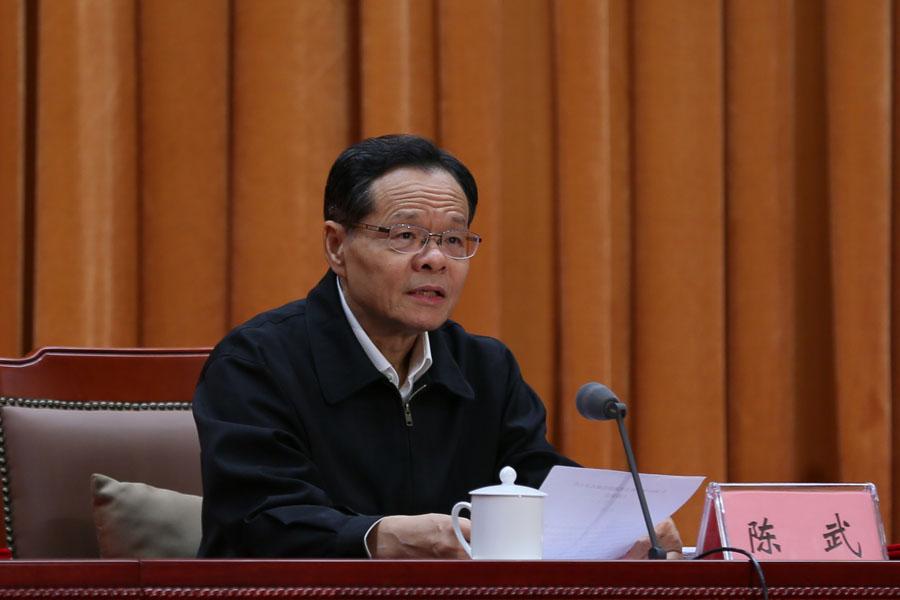 自治區主席陳武主持2019年廣西文化旅遊發展大會