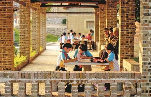 村民踴躍捐款 建設美麗家園