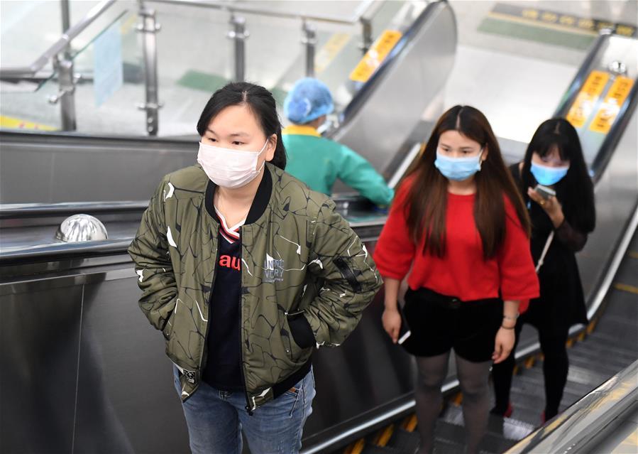廣西南寧:地鐵恢復正常運營