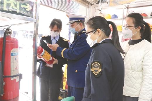 賀州深入開展消防産品專項檢查
