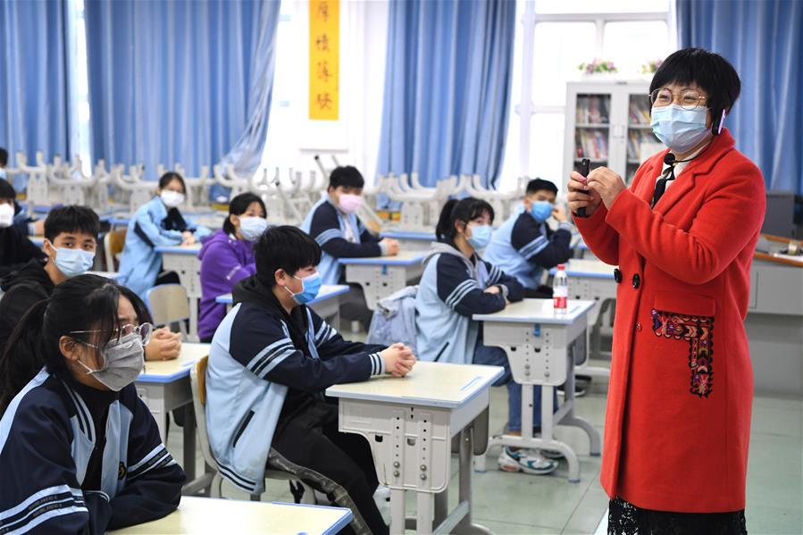 廣西初三高三學生開學復課