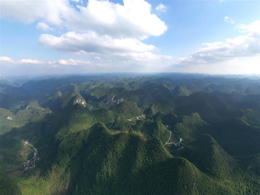 飛閱(yue)廣西大化(hua)七百弄國(guo)家地質公園