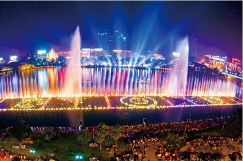 柳江大型音樂噴泉
