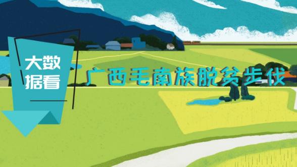 大數據看廣西毛南族脫貧步(bu)伐