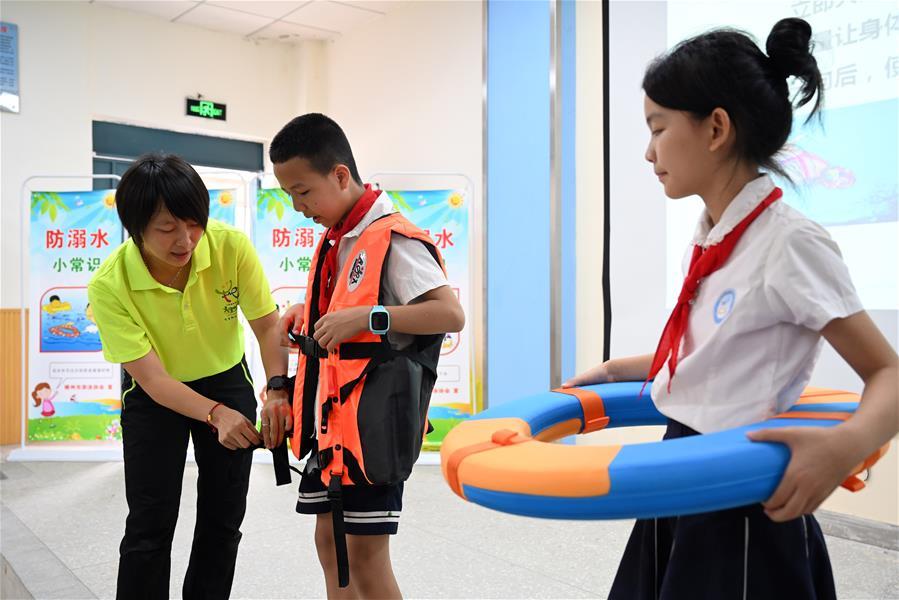 暑假安全教育進校園