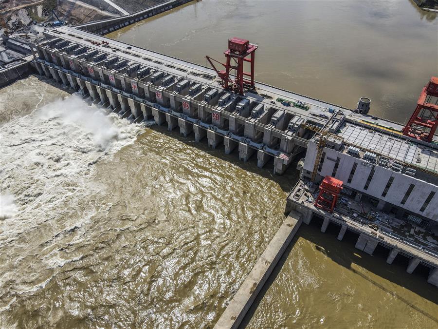 廣西大藤峽水利樞紐工程建設進展順利