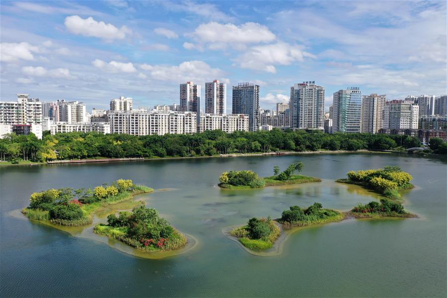 廣西南寧:湖光城色暑日美